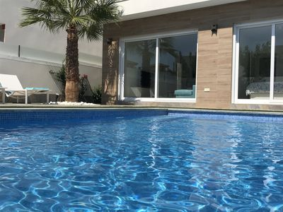 Photo for Brand new villa with private swimming pool and close to beaches