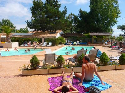 Photo for Rent Mobile Home Camping 4 **** Grand Confort 2ch 4 people