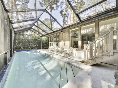 Photo for :3 bedroom home with its own screened in pool and access to Greenwood Forest Ame