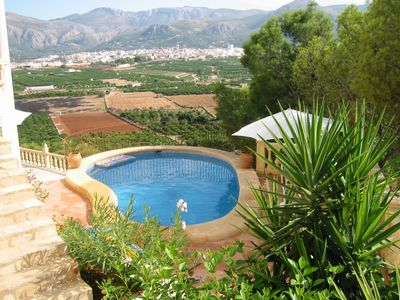 Photo for Big Villa with Pool and and fantastic view