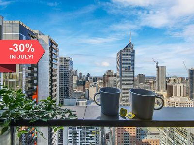 Photo for A Cozy 2BR Apt Next to Southern Cross + City Views