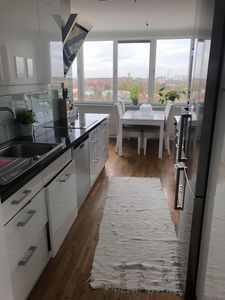 Photo for Spacious apartment with 180 degree view