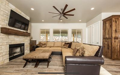 Photo for Immaculate newer home within walking distance of the Ponderosa Resort.