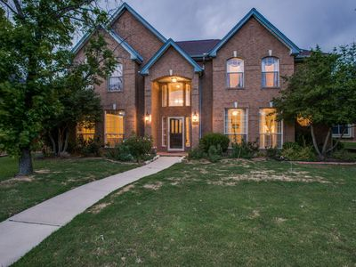 Photo for Gorgeous 4 Bedroom Home in Prime West Plano-NOW WITH A HEATED POOL AND SPA!!