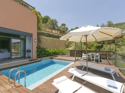 Photo for Superior Villa  Cassiope with 3Br, Private Pool And Stunning Sea Views