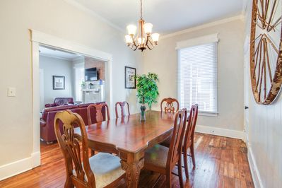 Dining Room - The spectacular dining room is suitable for formal or casual entertaining.