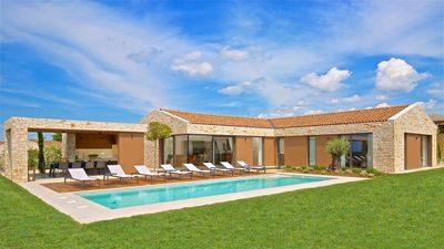 Photo for Modern Villa Terra Biancha, in Istria, with a Pool