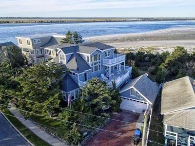 Photo for BEACHFRONT Million Dollar OCEAN & BAY Views Exclusive Island Point
