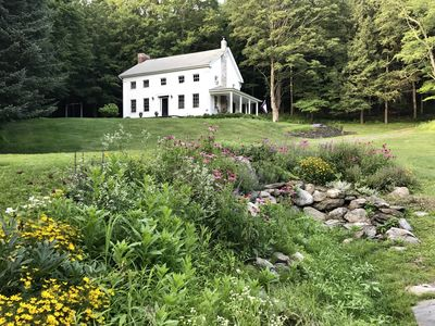 Photo for 1832 Colonial Farmhouse - Swimming Pool | Hudson River Valley