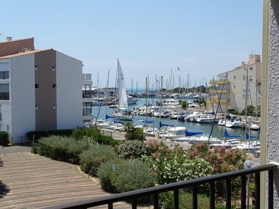 Photo for LE CAP D'AGDE Very nice comfortable apartment 30m from the beach 15mn from the center