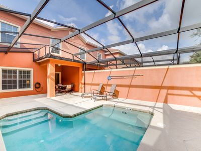Photo for Paradise Palms Resort home with splash pool, just 7 mi from Disney!