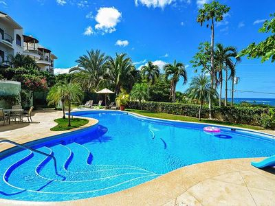 Photo for Ocean-view vacation villa for 6 centrally located in Tamarindo!