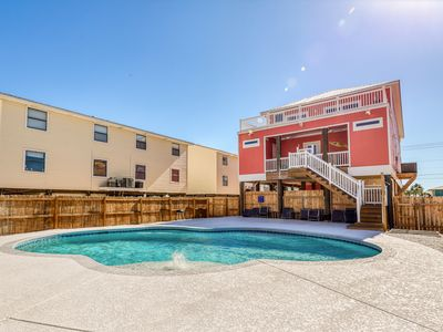 Photo for Gulf view property w/ private pool, sundeck, elevator & smart home technology!