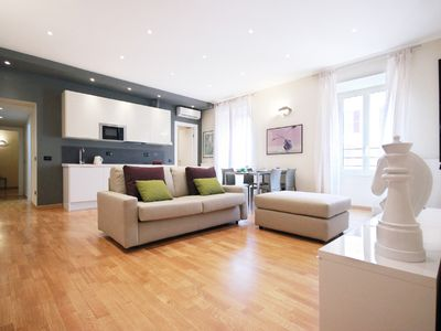Photo for Two Bedroom, Two Bathroom Minutes from St. Peter's Square
