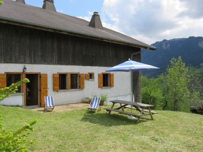 Photo for Apartment in chalet, 6 people, 2 bedrooms, private terrace, south slope