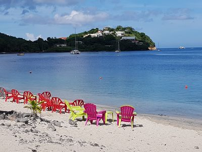Photo for The Carribean Mamaflo-Apartment with views of the Caribbean Sea