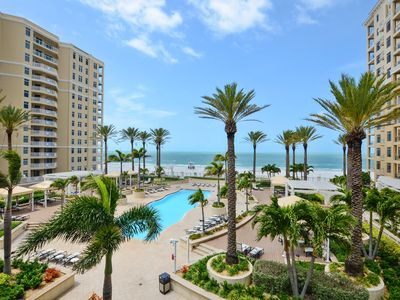 Photo for Sandpearl Residences, luxury condo + 5 star amenities on Clearwater Beach