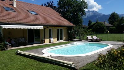 Photo for Lake Annecy - House 10 people with swimming pool in Saint-Jorioz