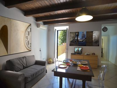 Photo for Panoramic apartment in the historic center of Salerno