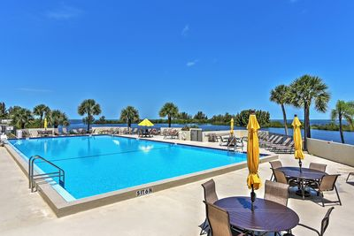 Enjoy access to numerous resort amenities, including this lavish pool.