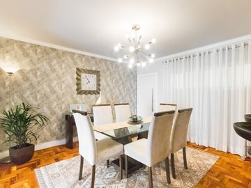 LUXURY AND REFINEMENT NEAR METRO VL. MAGDALENA, 3 BEDROOM, 1 suite, 6 PEOPLE