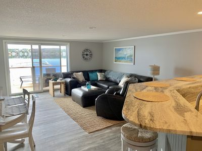 Photo for Beautiful, Spacious, Year round, Lakefront Condo, with Boat slip and more!