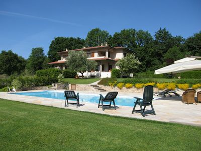 Photo for Beautiful Villa Laura in Camaiore with swimming pool and Jacuzzi