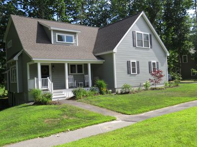 Photo for FALL SPECIAL PRICING!! Gorgeous home on golf course with space for everyone