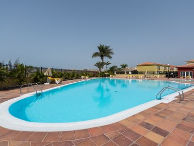 Photo for Villa duplex Meloneras, relax, big pool, paddle, tennis,...
