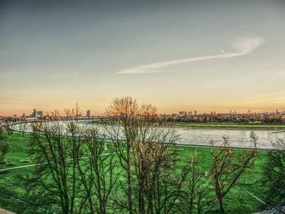 Photo for 15 minutes walk on the Rhine River to the fair (Messe Düsseldorf)