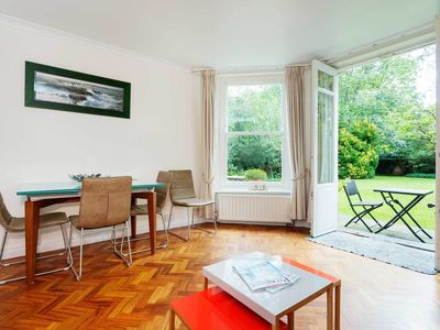 Photo for UP TO 20% OFF - Belsize Beauty, One Bed Garden Flat, Sleeps 4 (Veeve)