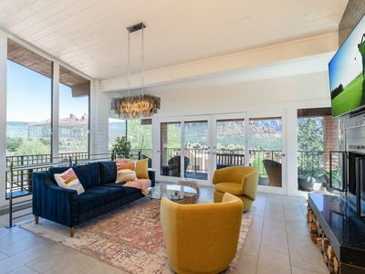 Sedona Uptown Overlook with Panoramic Red Rock Views! Summer discounts in effect