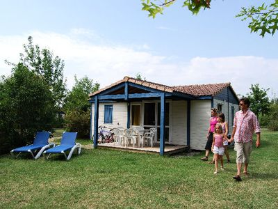 Photo for Residence Lagrange Holidays Grand Bleu the Chalets of Port Lalande - Chalet Aquitaine 3 Rooms 4 People