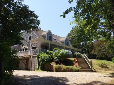 Photo for Open-plan Cape close to quiet beach, 3 miles from Nauset Beach