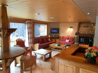 Photo for Chalet 30 people with jacuzzi and sauna - Chalet 10 rooms 30 persons