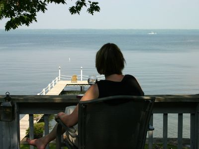 Photo for Romantic winter views, right on the water, at reduced rates!
