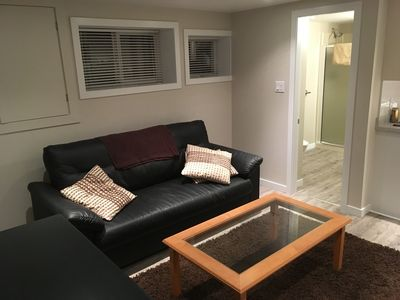 Photo for New and Cozy one bedroom accomodation - near UVIC, Camosun and Hospital