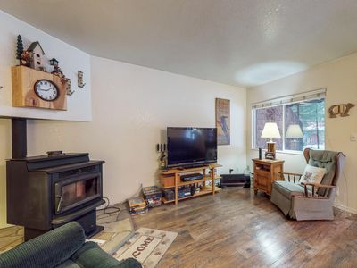 Photo for Cozy family condo w/easy access to skiing, lakeside adventures, & attractions