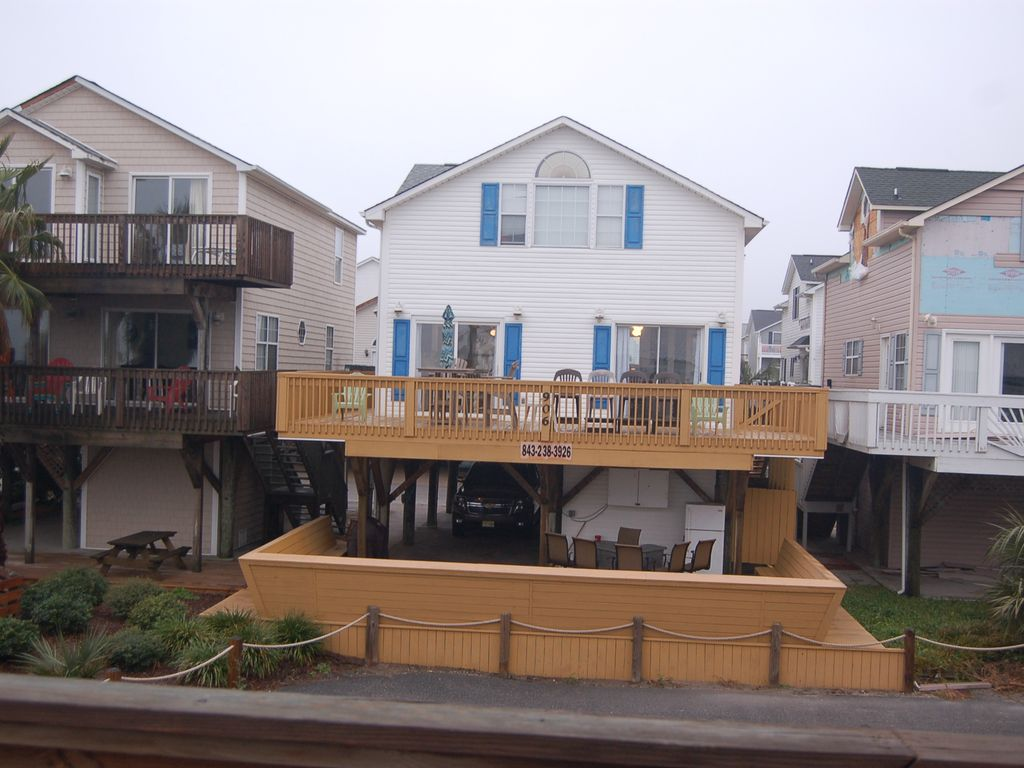 OCEAN FRONT 4 BDRM/2full/2 half baths. Great weeks still avail Summer 2019!