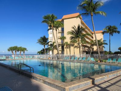 Photo for Dreamy Island Getaway for Two! 1B/1B Beachfront Vacation Condo at Leonardo Arms With Fantastic Views!
