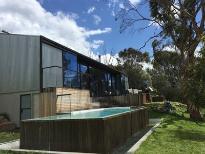 Photo for GETO - Holiday home with a pool on the river