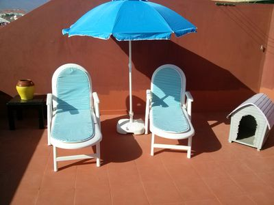 Photo for 2 bedroom apartment near the beach of Medano South Tenerife airport