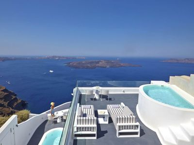 Photo for 1BR Apartment Vacation Rental in Imerovigli, Santorini