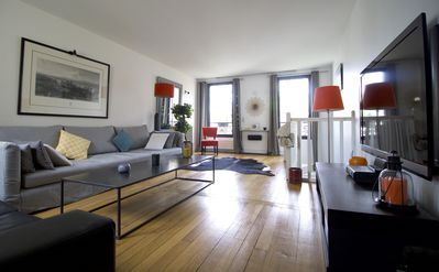 Photo for Duplex penthouse in Boulogne 180m² - 8 people
