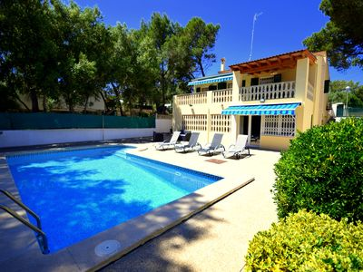 Photo for Holiday home Es Niu in a privileged location with private pool and 5 bedrooms!