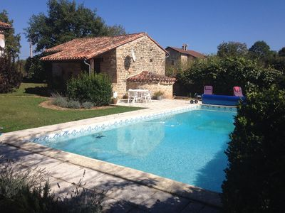 Photo for Gite With Pool With Views  Of The Magestic Gorge De Aveyon