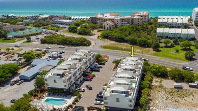 Photo for Luxury Townhome on Scenic Hwy 30A with panoramic views & 2 blocks to the beach!