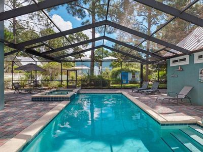 Photo for Barefoot Bliss,Seagrove Beach,Large Heated/Screened Pool,Pet Friendly