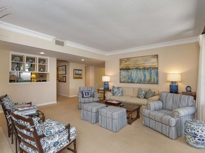 Photo for High End Amenities, 2 King BRs, each w/ Private Bath, Gated Community, Private Patio in Sea Island