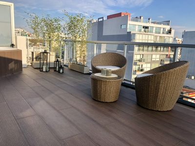 Photo for Luxury Studio w / Private Terrace and Jacuzzi Palermo Soho